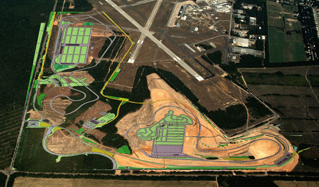 New Jersey Motorsport Park map